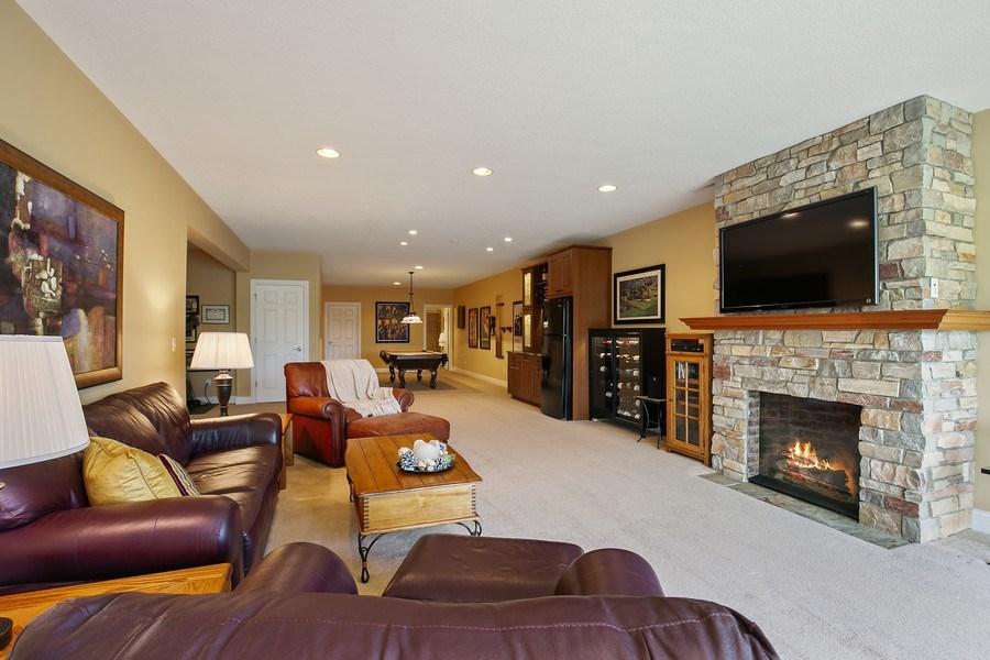 Real Estate Photography - 4850 Steeplechase Cir, Eagan, MN, 55122 - Family Room