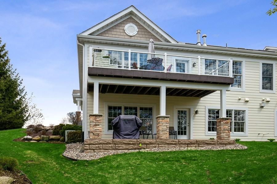 Real Estate Photography - 4850 Steeplechase Cir, Eagan, MN, 55122 - Rear View