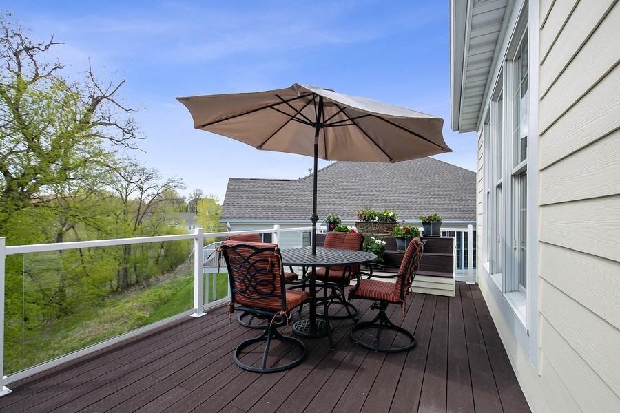 Real Estate Photography - 4850 Steeplechase Cir, Eagan, MN, 55122 - Deck