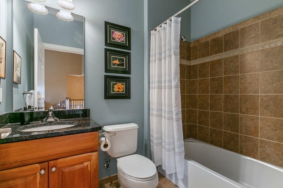 Real Estate Photography - 4850 Steeplechase Cir, Eagan, MN, 55122 - 2nd Bathroom