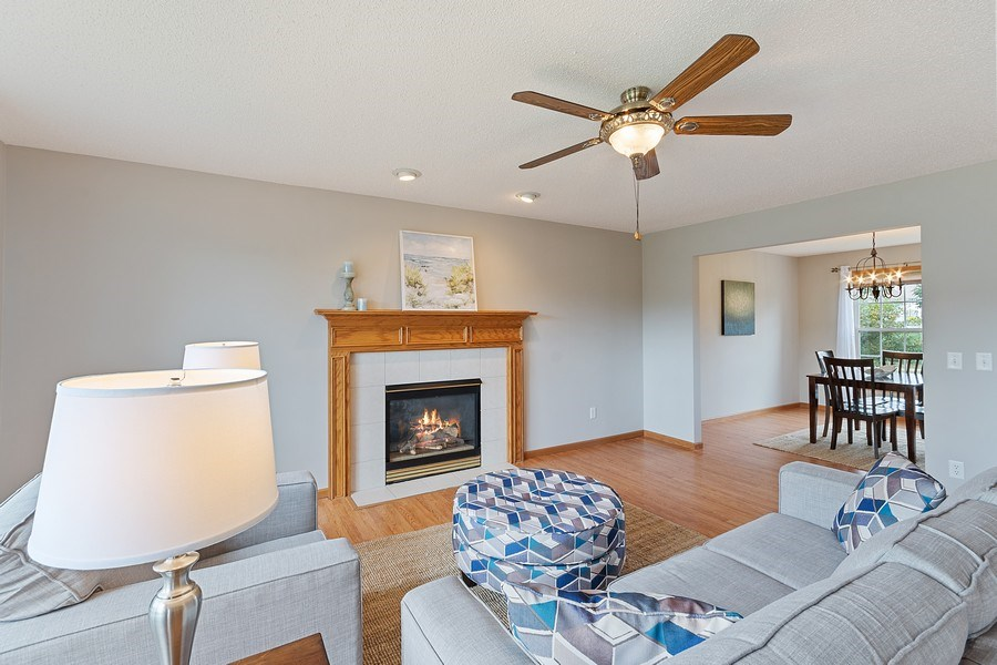 Real Estate Photography - 10686 182nd Ave NW, Elk River, MN, 55330 - Living Room
