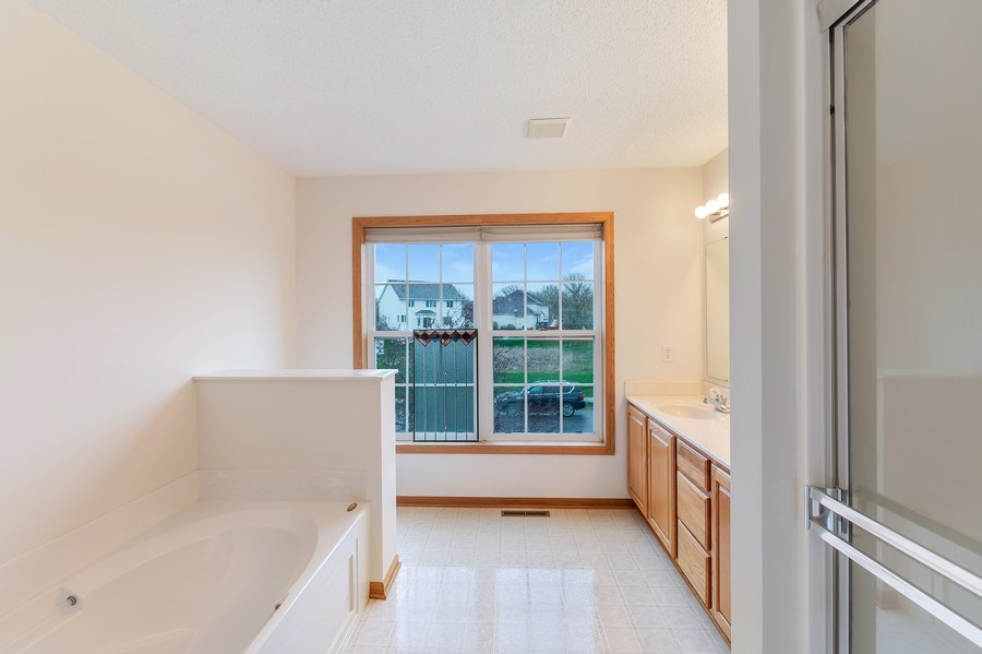Real Estate Photography - 10686 182nd Ave NW, Elk River, MN, 55330 - Master Bathroom