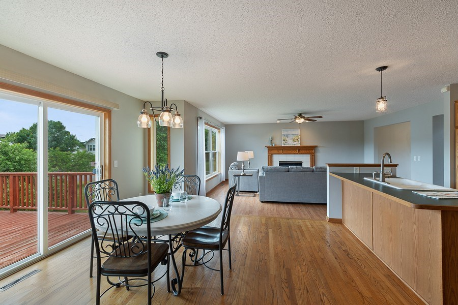 Real Estate Photography - 10686 182nd Ave NW, Elk River, MN, 55330 - Kitchen / Breakfast Room