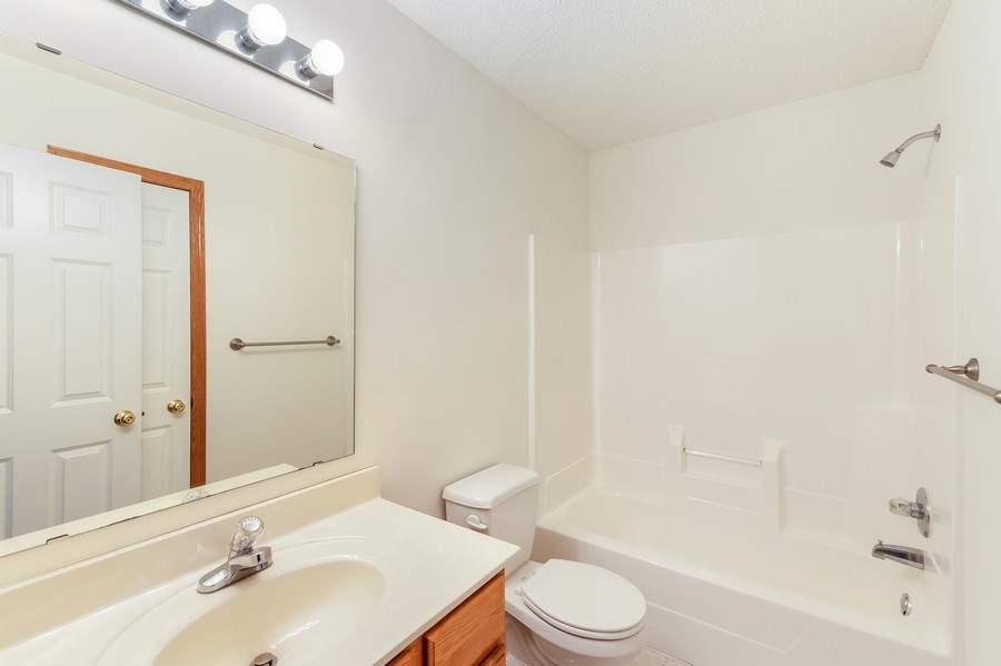 Real Estate Photography - 10686 182nd Ave NW, Elk River, MN, 55330 - 2nd Bathroom