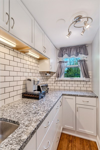 Real Estate Photography - 8163 Victoria Dr, Victoria, MN, 55315 - Butler's pantry