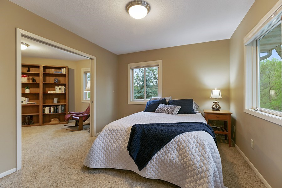 Real Estate Photography - 9217 Briar Ln, Bloomington, MN, 55437 - Oversized Master suite!