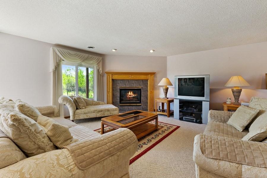 Real Estate Photography - 8761 Alamo Cir, Blaine, MN, 55449 - Family Room