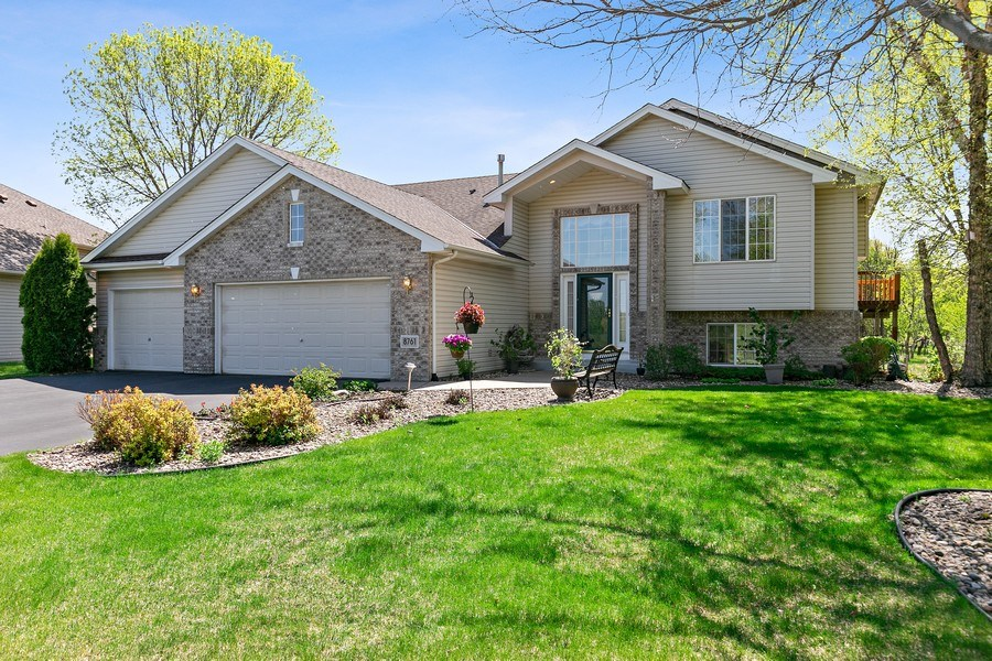 Real Estate Photography - 8761 Alamo Cir, Blaine, MN, 55449 - Front View