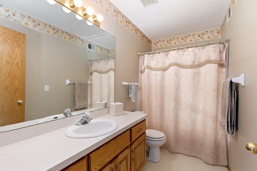 Real Estate Photography - 8761 Alamo Cir, Blaine, MN, 55449 - 2nd Bathroom