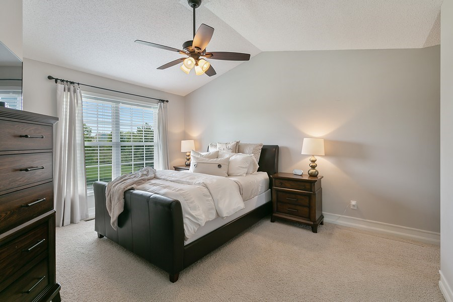 Real Estate Photography - 8589 176th St w, Lakeville, MN, 55044 - Master Bedroom