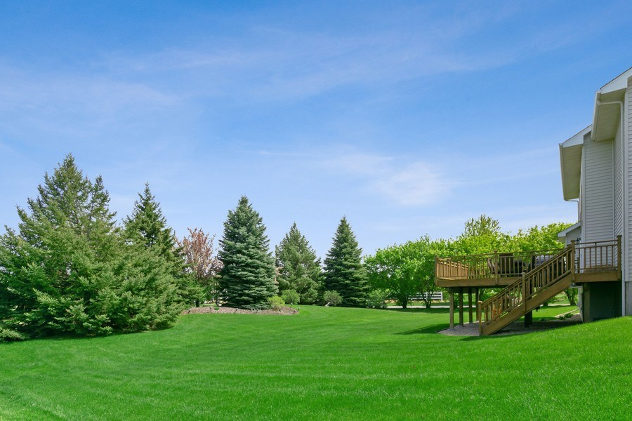 Real Estate Photography - 8589 176th St w, Lakeville, MN, 55044 - Back Yard