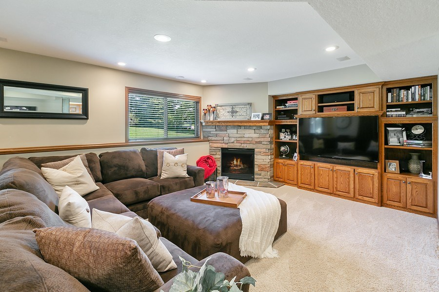 Real Estate Photography - 8589 176th St w, Lakeville, MN, 55044 - Family Room