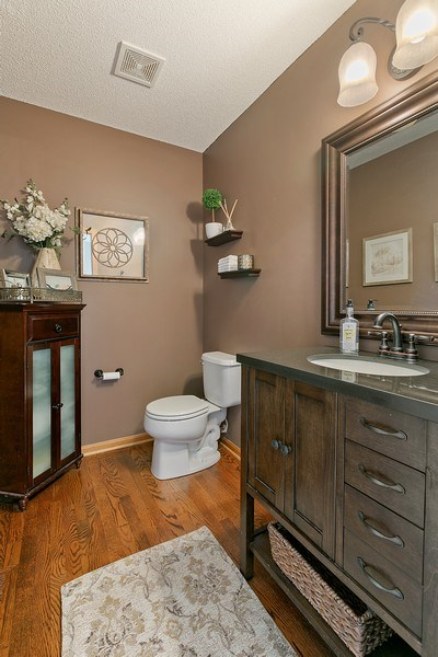 Real Estate Photography - 8589 176th St w, Lakeville, MN, 55044 - Bathroom