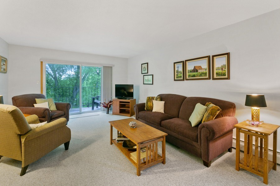 Real Estate Photography - 8045 Xerxes Avenue S, Unit 111, Bloomington, MN, 55431 - Living Room