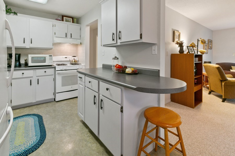 Real Estate Photography - 8045 Xerxes Avenue S, Unit 111, Bloomington, MN, 55431 - Kitchen