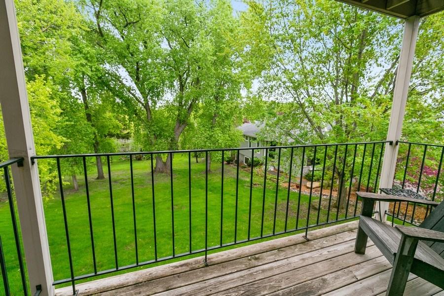 Real Estate Photography - 8045 Xerxes Avenue S, Unit 111, Bloomington, MN, 55431 - Deck