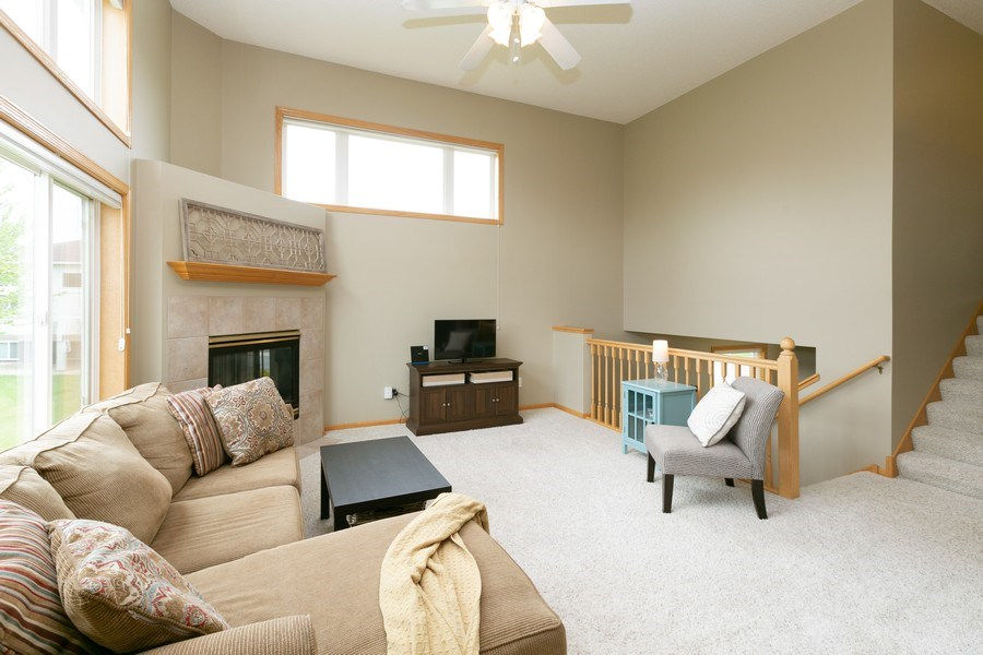 Real Estate Photography - 18832 Inca Ave, Lakeville, MN, 55044 - Living Room