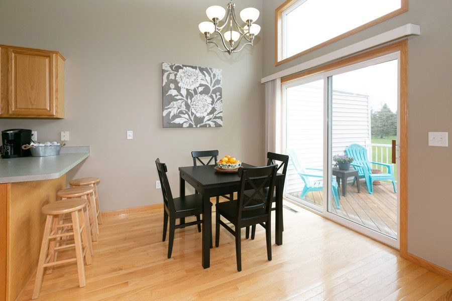 Real Estate Photography - 18832 Inca Ave, Lakeville, MN, 55044 - Dining Room