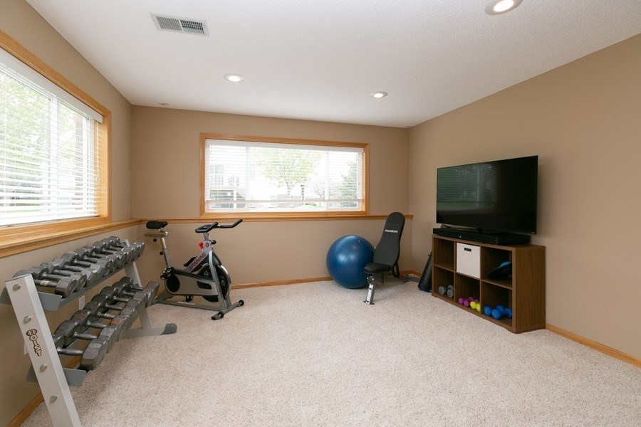 Real Estate Photography - 18832 Inca Ave, Lakeville, MN, 55044 - Family Room