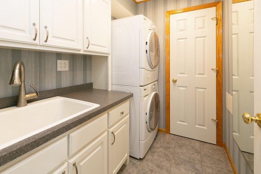 Real Estate Photography - 18832 Inca Ave, Lakeville, MN, 55044 - Laundry Room