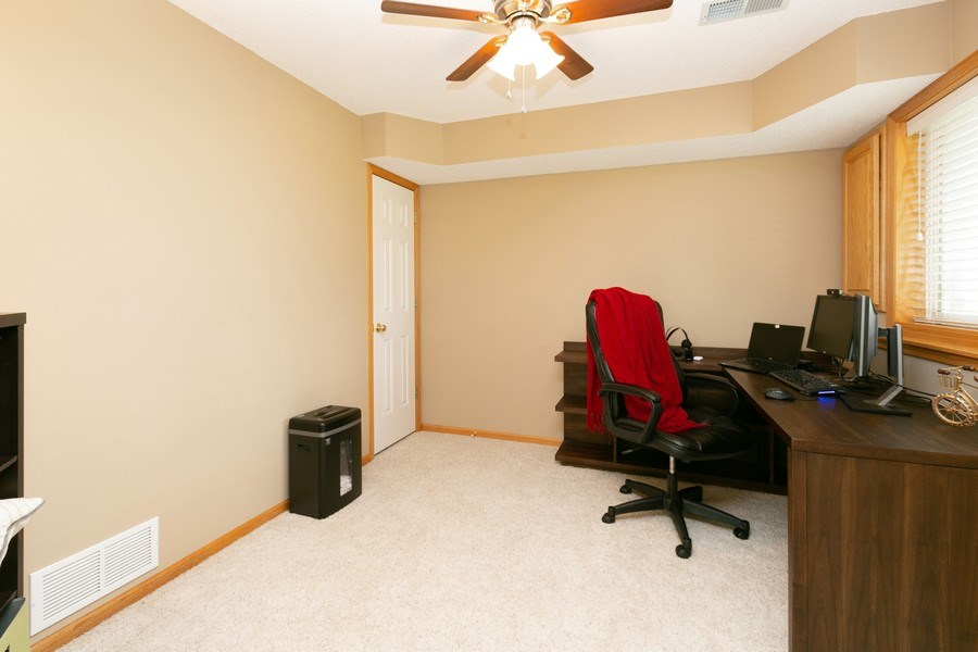 Real Estate Photography - 18832 Inca Ave, Lakeville, MN, 55044 - Lower Level 3rd Bedroom/Office