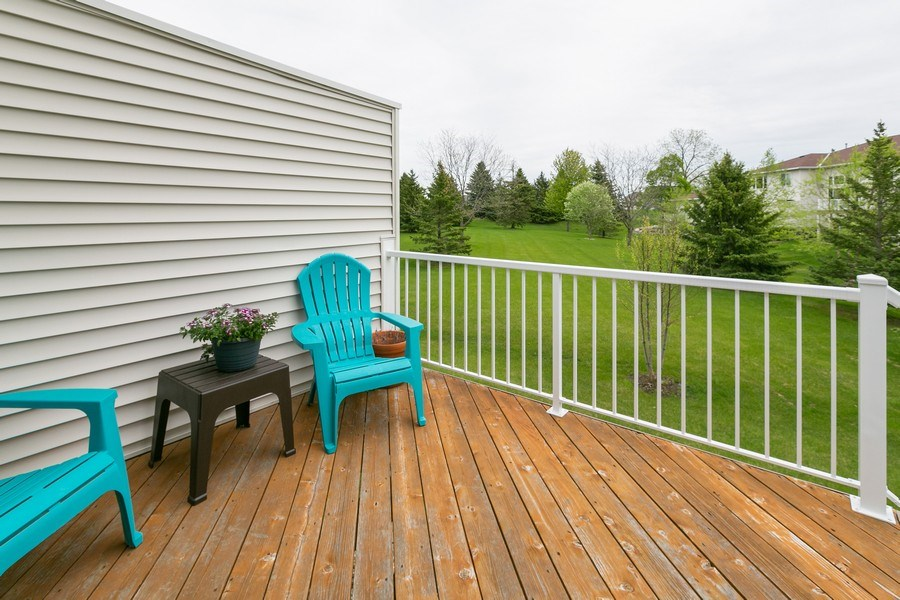 Real Estate Photography - 18832 Inca Ave, Lakeville, MN, 55044 - Deck