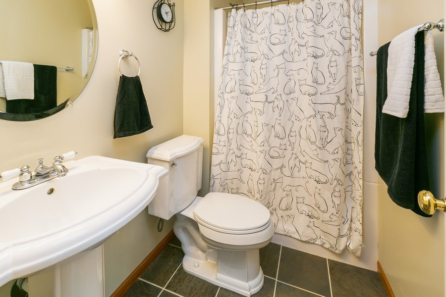 Real Estate Photography - 18832 Inca Ave, Lakeville, MN, 55044 - Lower Level Bathroom