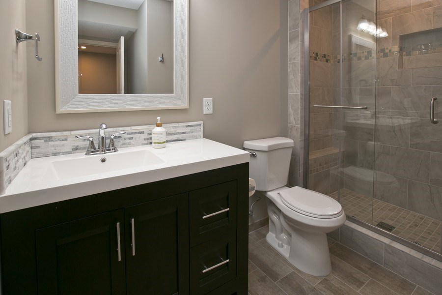Real Estate Photography - 9274 67th St S, Cottage Grove, MN, 55016 - Lower Level Bath