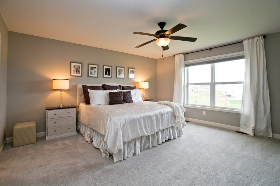 Real Estate Photography - 9274 67th St S, Cottage Grove, MN, 55016 - Master Bedroom