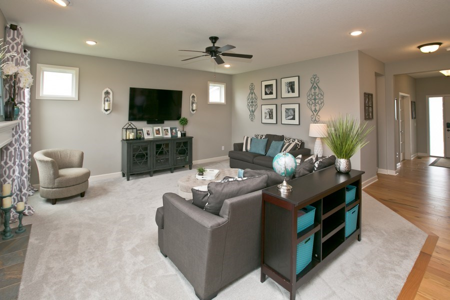 Real Estate Photography - 9274 67th St S, Cottage Grove, MN, 55016 - Living Room