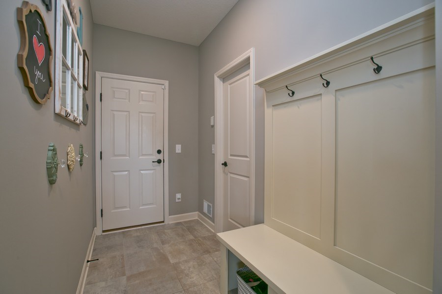 Real Estate Photography - 9274 67th St S, Cottage Grove, MN, 55016 - Mudroom