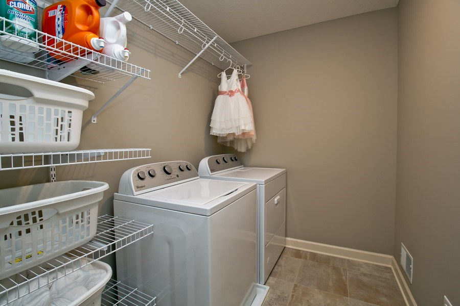 Real Estate Photography - 9274 67th St S, Cottage Grove, MN, 55016 - Laundry Room