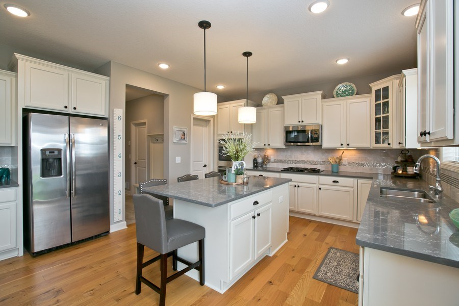 Real Estate Photography - 9274 67th St S, Cottage Grove, MN, 55016 - Kitchen