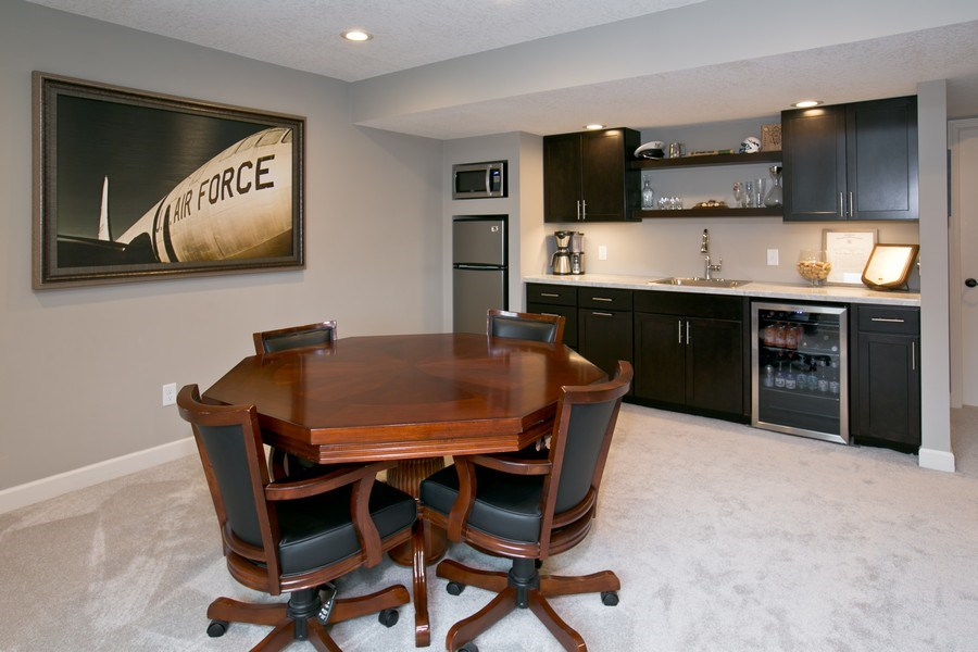 Real Estate Photography - 9274 67th St S, Cottage Grove, MN, 55016 - Wet Bar