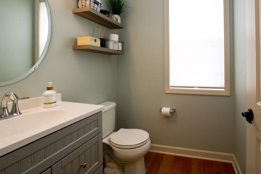 Real Estate Photography - 9274 67th St S, Cottage Grove, MN, 55016 - Half Bath