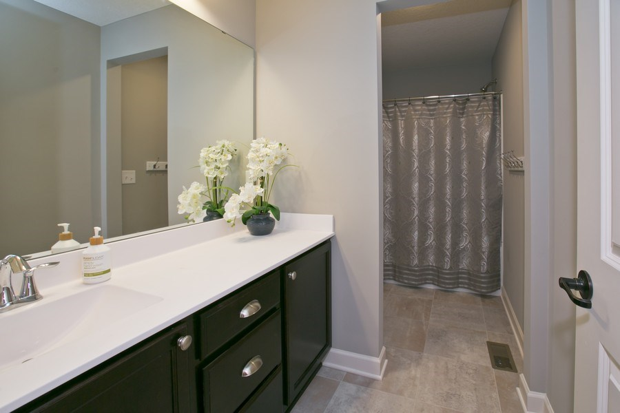 Real Estate Photography - 9274 67th St S, Cottage Grove, MN, 55016 - Main Bath