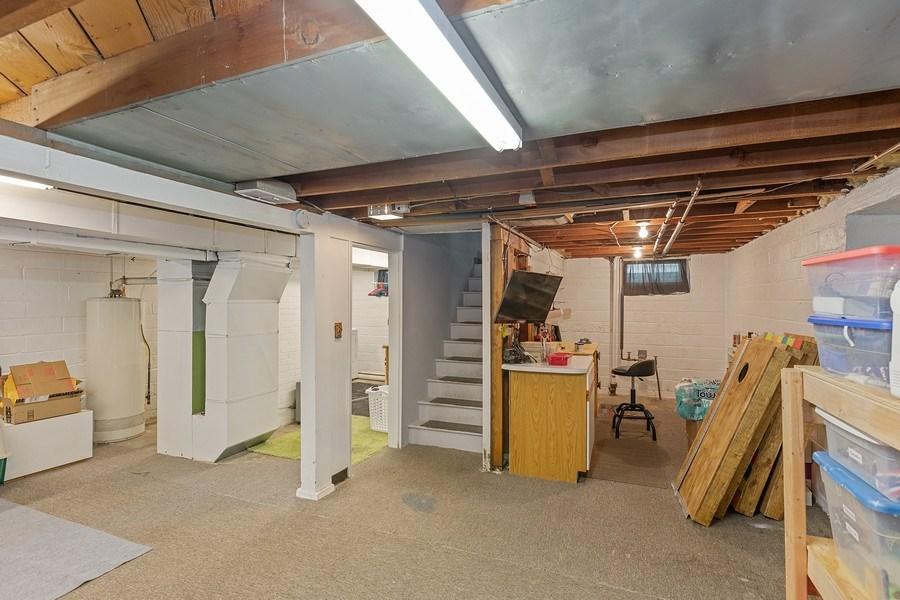 Real Estate Photography - 46383rd St NE, Fridley, MN, 55421 - Basement