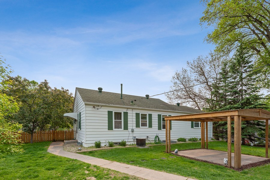 Real Estate Photography - 46383rd St NE, Fridley, MN, 55421 - Back Yard
