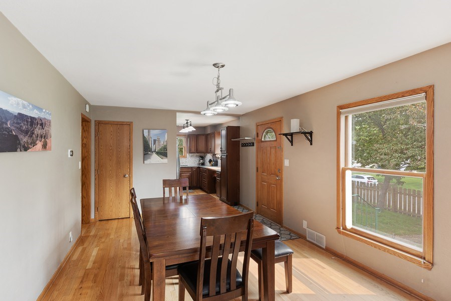 Real Estate Photography - 46383rd St NE, Fridley, MN, 55421 - Dining Area