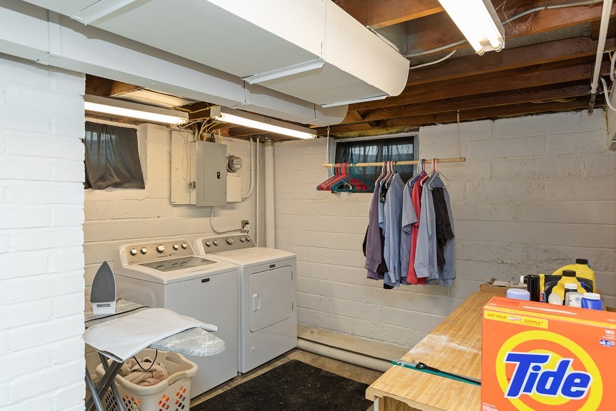Real Estate Photography - 46383rd St NE, Fridley, MN, 55421 - Laundry Room