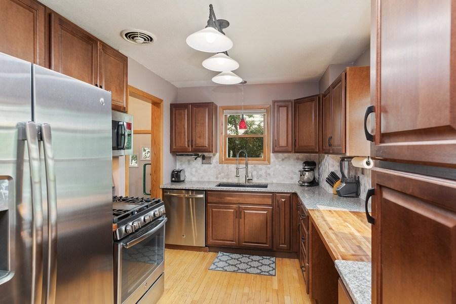 Real Estate Photography - 46383rd St NE, Fridley, MN, 55421 - Kitchen