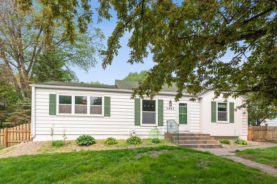 Real Estate Photography - 46383rd St NE, Fridley, MN, 55421 - Front View