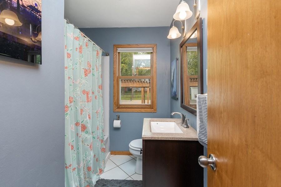 Real Estate Photography - 46383rd St NE, Fridley, MN, 55421 - Bathroom