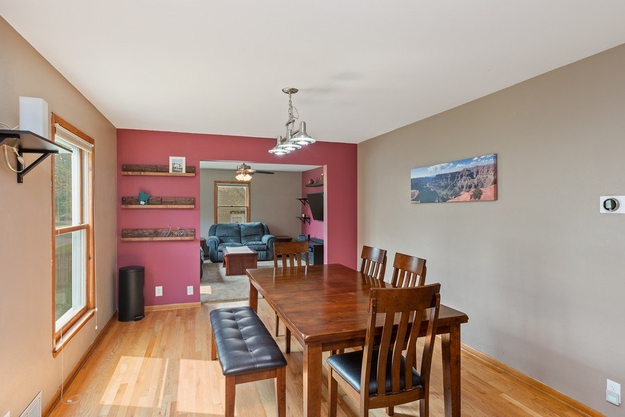 Real Estate Photography - 46383rd St NE, Fridley, MN, 55421 - Living Room / Dining Room