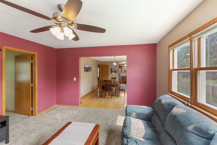 Real Estate Photography - 46383rd St NE, Fridley, MN, 55421 - Family Room / Kitchen