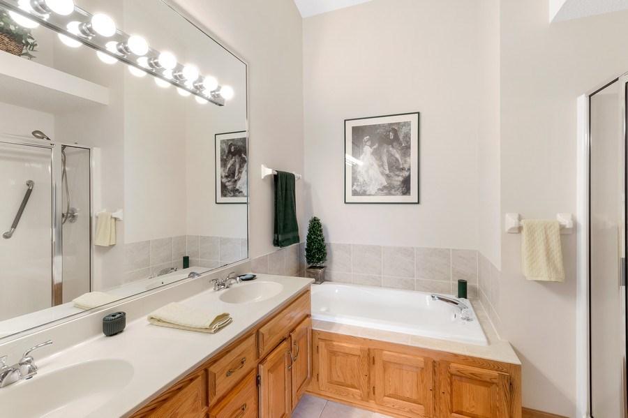 Real Estate Photography - 10954 Leaping Deer Ln, Eden Prairie, MN, 55344 - Master Bathroom