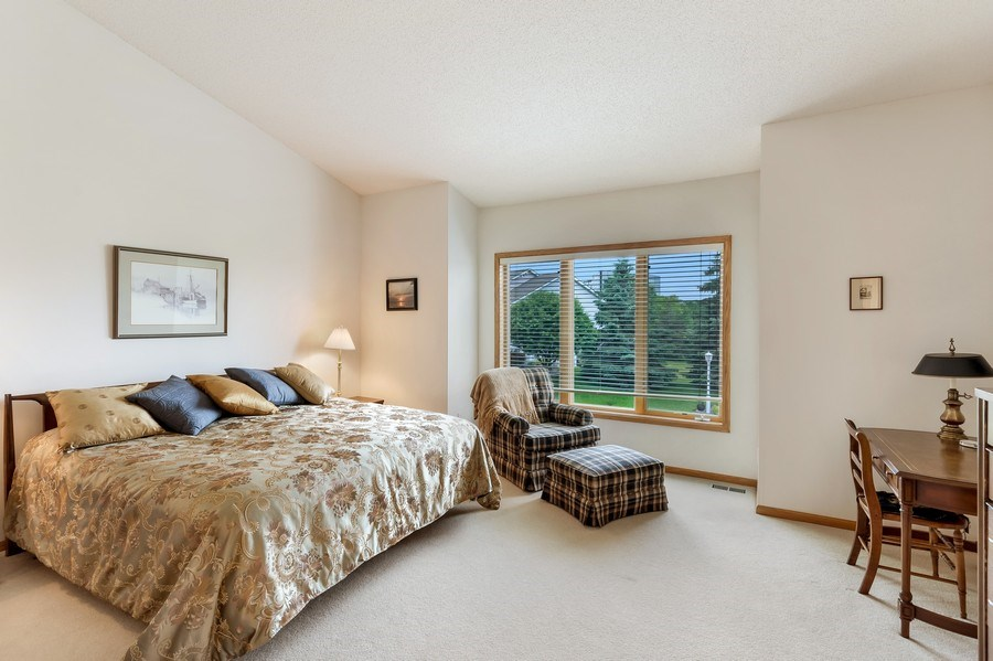 Real Estate Photography - 10954 Leaping Deer Ln, Eden Prairie, MN, 55344 - Master Bedroom