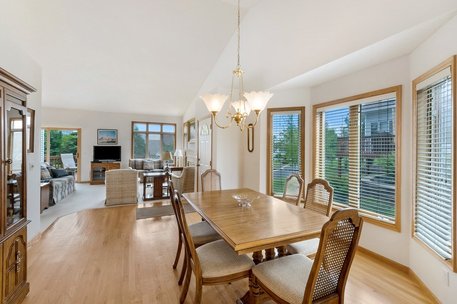 Real Estate Photography - 10954 Leaping Deer Ln, Eden Prairie, MN, 55344 - Dining Room