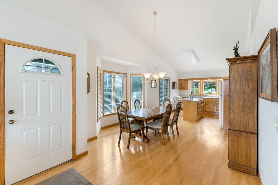 Real Estate Photography - 10954 Leaping Deer Ln, Eden Prairie, MN, 55344 - Foyer