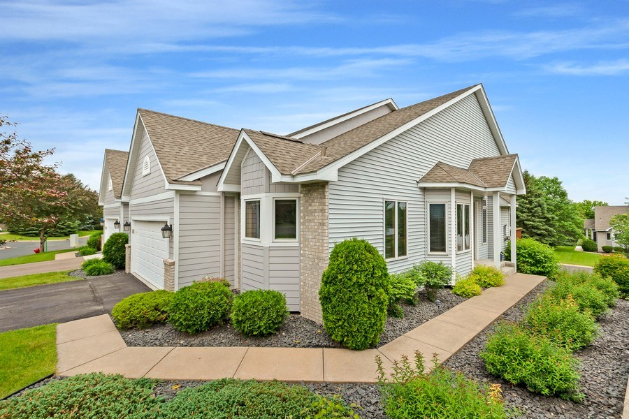 Real Estate Photography - 10954 Leaping Deer Ln, Eden Prairie, MN, 55344 - Front View